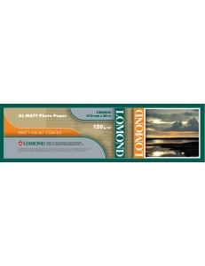 Ролик для плоттера (120г/м2,  610ммх30мх50,8мм) матовый LOMOND 1202025