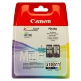 Набор Canon PG-510+CL-511 PIXMA 240/260/320/330 PG-510+CL-511/2970B010