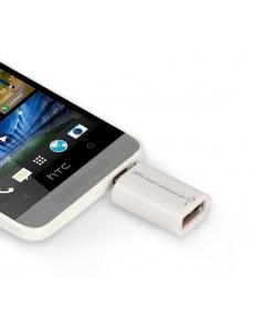 Универсальный OTG адаптер белый <SBR-OTG-W> SmartBuy SBR-OTG-W