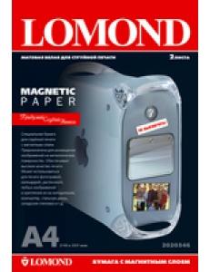 """Бумага матовая """"Magnetic"""" матовая А4 620г/м2 (2л.) LOMOND 2020346"""