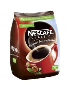 """Кофе растворимый Nescafe """"Classic""""  750г, мягкая упаковка """"Nestle"""" 239038"""