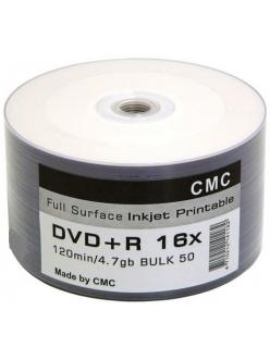DVD+R СМС printable 4.7Gb 16x тех.уп.( 50шт.) 4710212141182