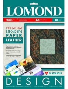 """Дизайн-бумага """"Кожа"""" глянцевая 230 г/м2 (10л.) LOMOND 918141"""