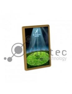 Фотомагнит прямоугольный 45x70мм БРОНЗОВЫЙ (упаковка 25шт) M-004