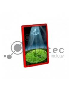 Фотомагнит прямоугольный 45x70мм КРАСНЫЙ (упаковка 25шт) M-005