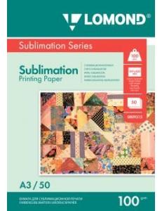 Бумага сублимационная ( 50л.100г/м,А3) LOMOND 0809315